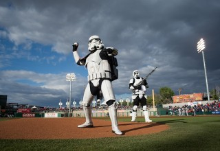 Storm Troopers at Greater Nevada Field
