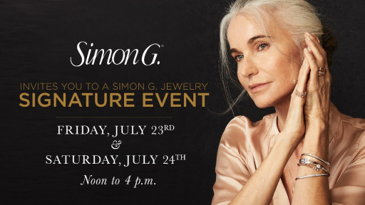 Attend the Simon G. Trunk Show With Special Guest Simon Ghanimian Only at Northeastern Fine Jewelry