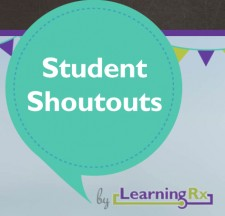 LearningRx Student Shoutouts