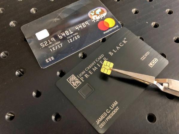 emv chip transplant - Plastic Credit Card