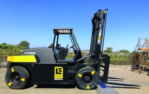 First US Manufactured High-Capacity Lithium Electric Forklift Now Available Through XL Lifts / Wiggins Lift