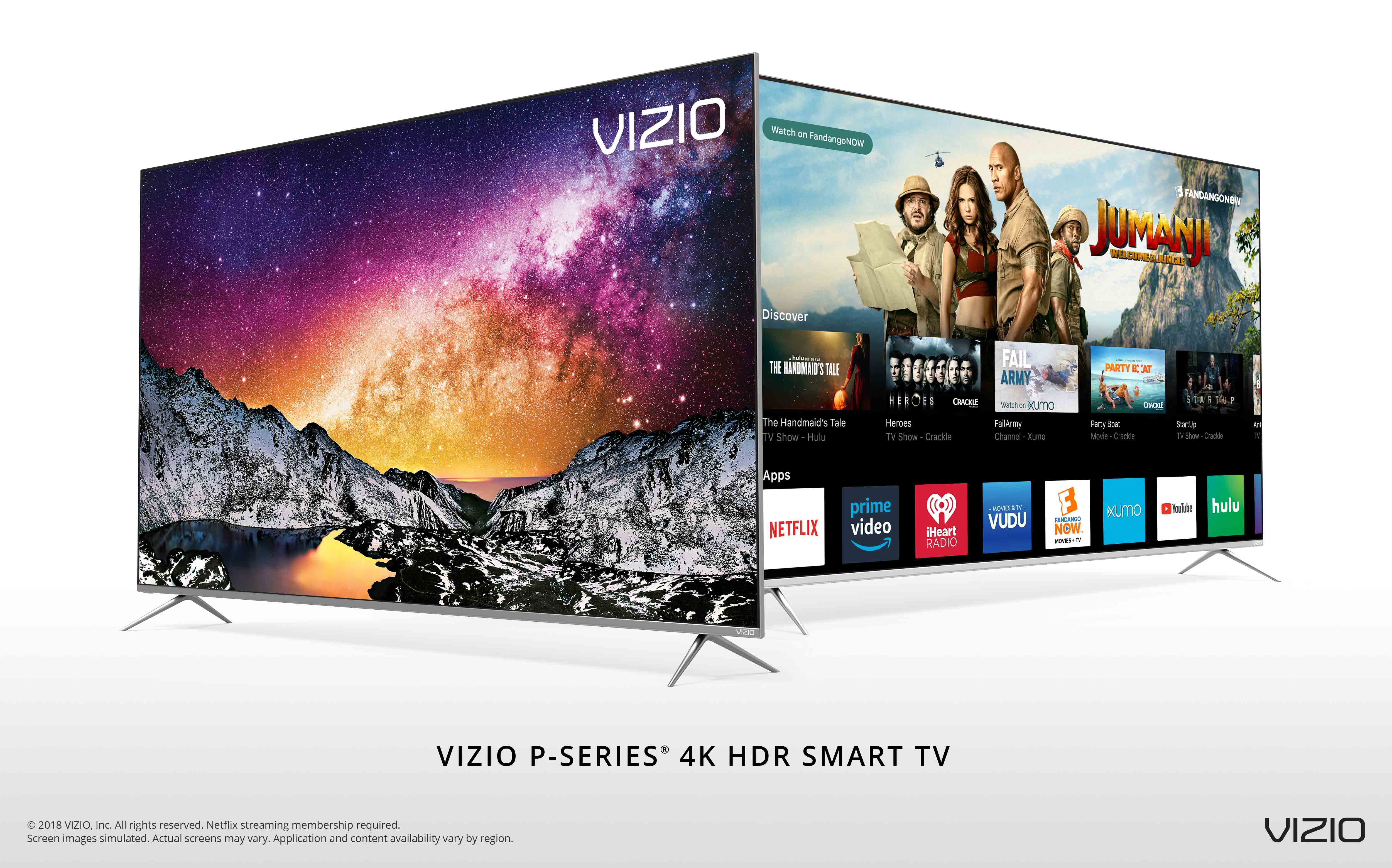 VIZIO Announces Availability of All-New 2018 P-Series® 4K HDR Smart