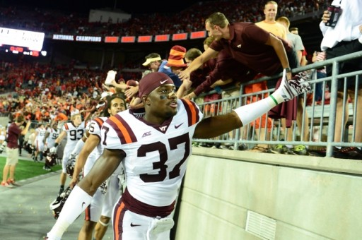 "Could Ronny Vandyke -the Virginia Tech Safety/Special Teams Ace Be the Next Kam Chancellor? With a Closer Look at the Numbers the Answer Is ""Yes"", per Inspired Athletes"