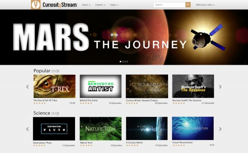 Streaming Service CuriosityStream Debuts Internationally Today