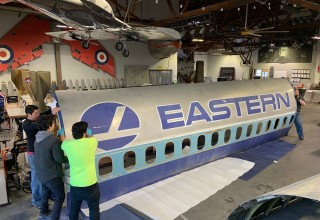 Eastern Air Lines DC-9 Fuselage