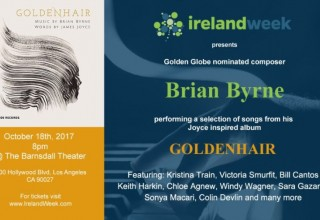 Brian Byrne's GOLDENHAIR Oct 16