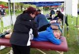 Massage after marathon racing