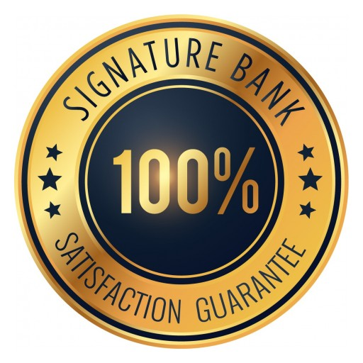 Signature Bank of Georgia Launches 100% Satisfaction Guarantee to Clients