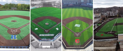 A Grand Slam of New York Baseball FieldTurf Installations