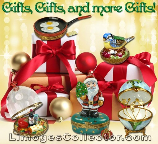 Find the Joy of Giving This Holiday Season With Magnificent Gifts for All at LimogesCollector.com