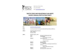 First Page - Polo Party Activities