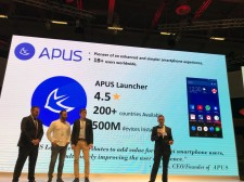 APUS Launcher at Huawei AppStore launch