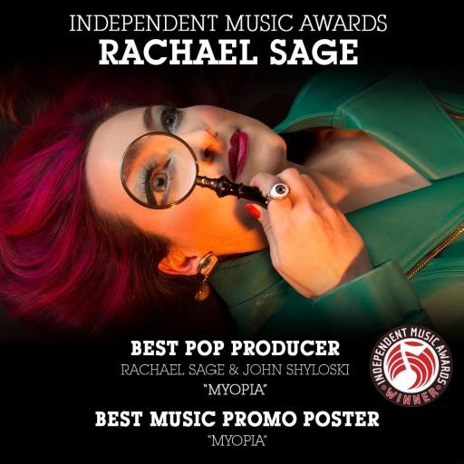 Rachael Sage Album 'Myopia' Wins Two Independent Music Awards