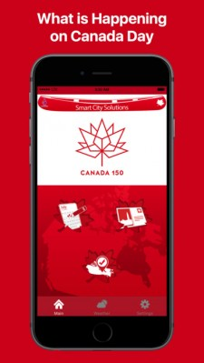 Canada Day app