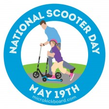 National Scooter Day Logo