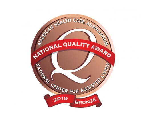 Infinity Rehab Partner Receives Prestigious Quality Award