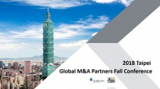 Global M&A Partners Fall conference Taipei