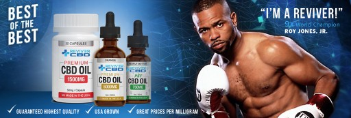 Titan FC Enters Multi-Year Exclusive Partnership With Reviver CBD