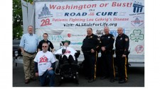Chris Pedergast, ALS Ride for Life receives Proclamation from Sayreville Mayor Kennedy O'Brien