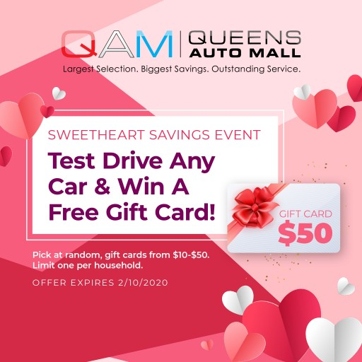 Queens Auto Mall Hosts 'Sweetheart Savings' Event