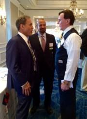 Personal Injury Attonreys David Shapiro David Goldman and Bernard Walsh at The FJA Masters Of Justice