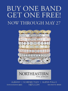 Buy one get one wedding band promotion