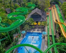 Waterbom Bali -  It's a Water Park but Not as We Know it