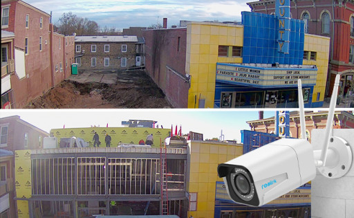 Reolink Assists in Expansion Project of a Historic Nonprofit Community Theater in Pennsylvania