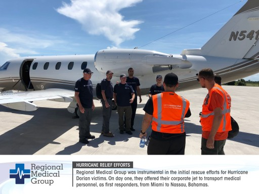 Regional Medical Group Extends Aid to Hurricane Dorian Survivors in the Bahamas