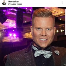 Jeff Manning pictured at an event at The Cosmopolitan Hotel