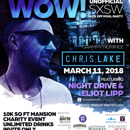 Employee Wow Announces a Charity Event Artist Line-Up Playing at Their Meet and Greet for SXSW