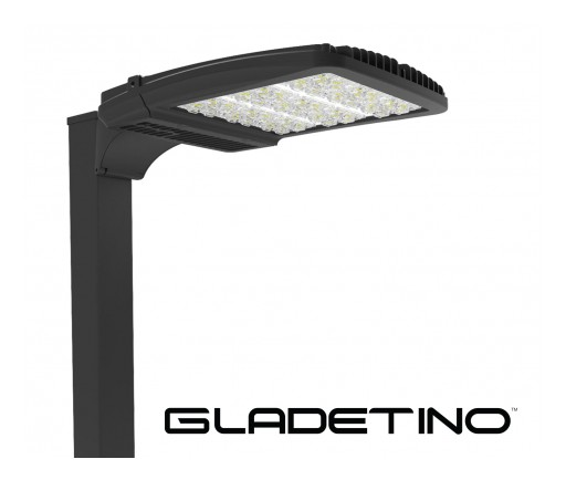 Gladetino LED Area Light from DECO Lighting Achieves Segment-Leading Performance