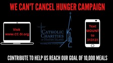 #CantCancelHunger Campaign!