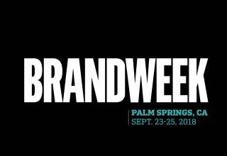Brandweek 2018 in Palm Springs