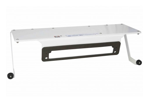 "Larson Electronics Releases No-Drill Magnetic Steel Mounting Plate for 2019 Ford Ranger, 24"" X 8"""