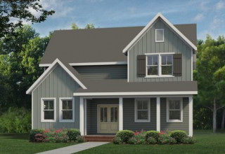 Rendering of NONFICTION Home - Garman Homes