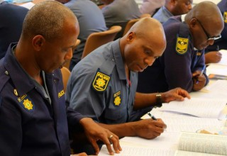 Police learned skills to tackle South Africa's drug epidemic