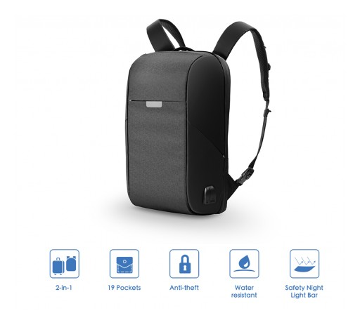 OnePack Launches on Kickstarter and Redefines the Backpack for Modern Lifestyles