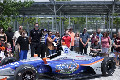 25 Patients Awaiting Organ Transplants Featured on Indy 500 Racecar