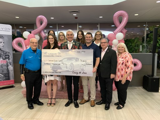 The Craig Zinn Automotive Group and Lexus of Pembroke Pines Host Breast Cancer Awareness Soiree