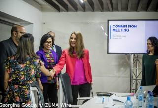 Melinda And Pathways for Prosperity commissioners - Nairobi, Kenya