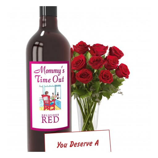The Perfect Mothers Day Gift: Mommy's Time Out Wine