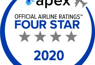 APEX 2020 Four Star Official Airline Rating