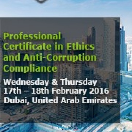 ethiXbase Announces Middle East Professional Certificate in Ethics and Anti-Corruption Compliance