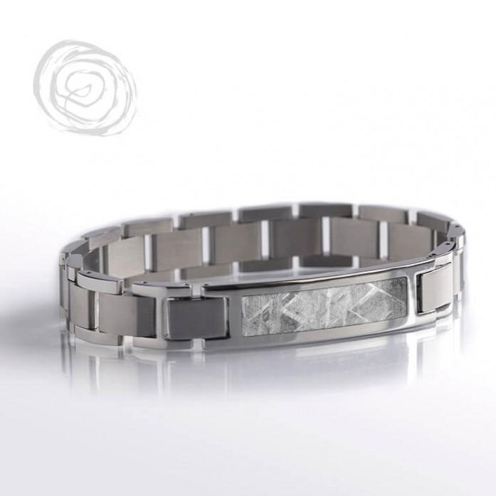 Gibeon Meteorite Interchangeable Bracelet