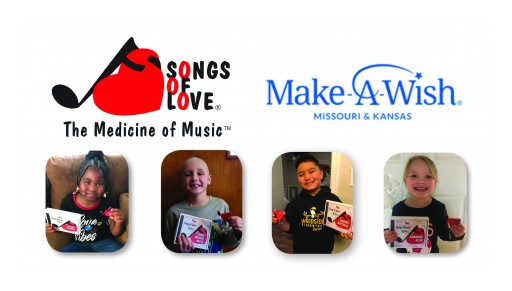 Make-A-Wish® Missouri & Kansas and the Songs of Love Foundation® Come Together to Bring More Smiles