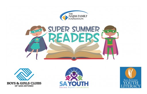 Local Non-Profits Join Forces With the Najim Family Foundation on Super Summer Readers Program