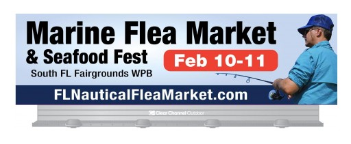 Marine Flea Market, Boat Sale and Seafood Festival February 10-11 in West Palm Beach
