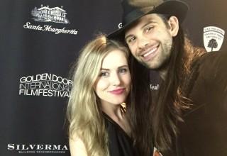 Erin Áine and fiancé Kyle Fritz Valle