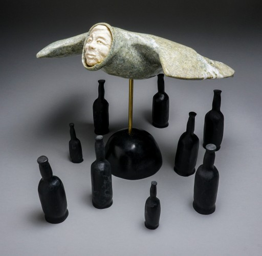 New Exhbition of Sculpture by Inuit Artist Bill Nasogaluak Addresses Everything From Shaman Stories to Climate Change